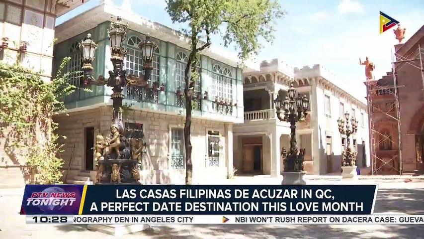 Las Casas Filipinas de Acuzar in QC, a perfect date destination this love month