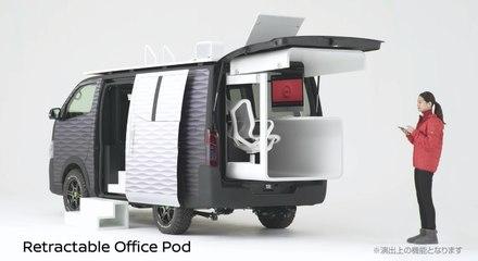 Nissan : Son futur van pour mêler voyages et télétravail