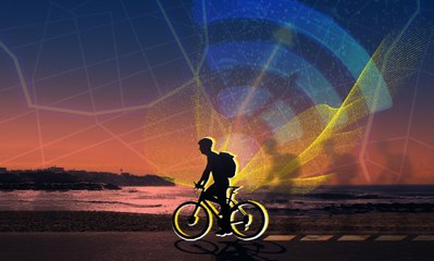 GPS art: the hybrid activity mixing creativity and fitness