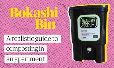 Composting in an apartment: The bokashi bin system