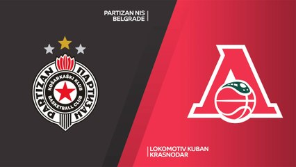7Days EuroCup Highlights Top 16, Round 4: Partizan 71-69 Lokomotiv