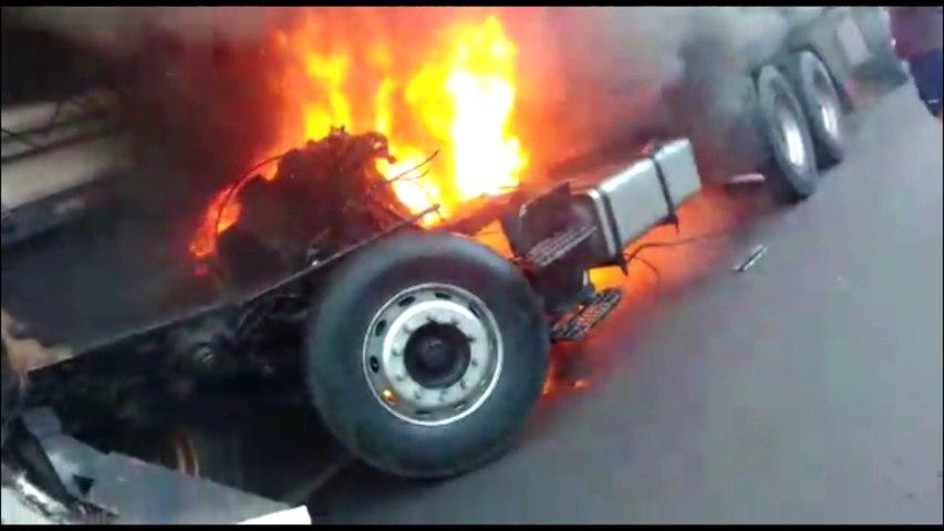 """""""Eu amo todo mundo"""": vídeo mostra últimas palavras de jovem que morreu queimado em acidente"""