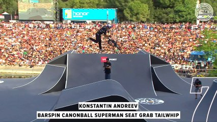 FISE UCI BMX Freestyle World Cup - Top 10 Men