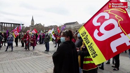 VIDEO. Environ 250 manifestants à Niort pour défendre l'emploi