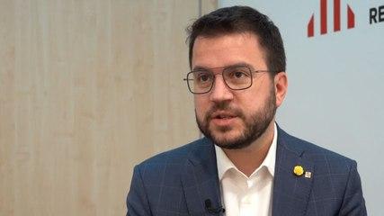 Pere Aragonés   Què es pot resoldre a la taula de negociació?