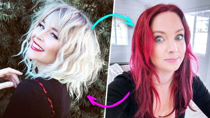 Wearing Opposite Hair Colors For A Week!