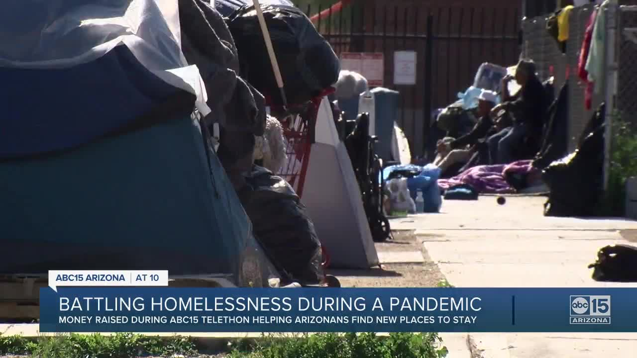 Battling homelessness during a pandemic