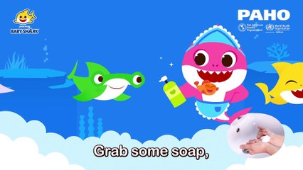 Wash Your Hands with Baby Shark _ Stay Safe from COVID-19