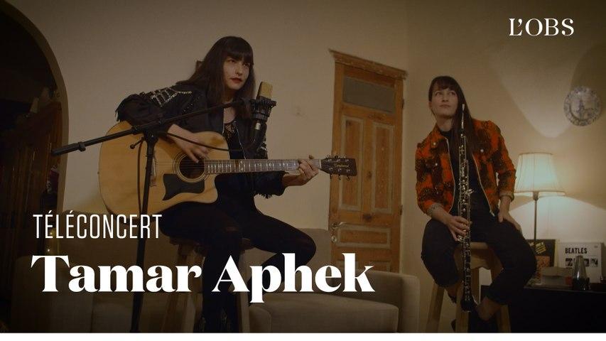 """Tamar Aphek - """"Russian Winter"""" (téléconcert pour """"l'Obs"""")"""