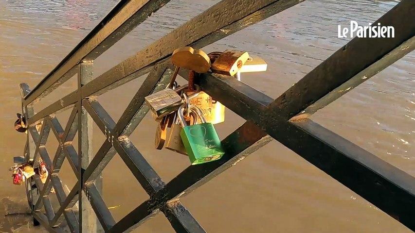 Crue de la Seine : les Parisiens affluent pour photographier le fleuve qui déborde