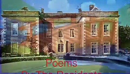 Residents at The Hall care home reciting poetry to send to the children at Thornton Dale Primary