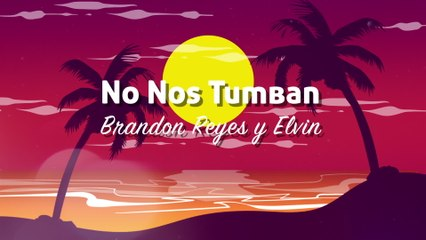 Brandon Reyes y Elvin - No Nos Tumban