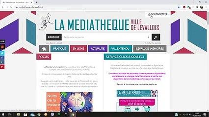 4- Télécharger un livre via le site de La Médiathèque