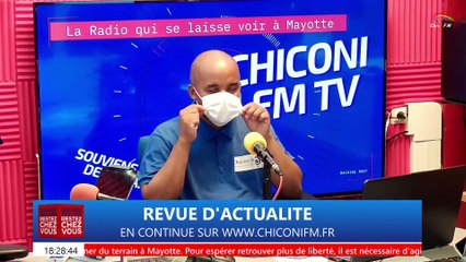 CHICONI FM TV - La revue de l'actualité du 15 février 2021