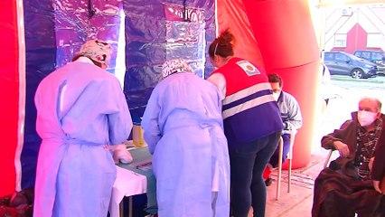Lora del Río habilita un puesto para vacunar contra el Covid-19 a mayores