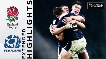 England v Scotland - EXTENDED Highlights | Historic Scotland Victory! | Guinness Six Nations 2021