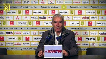 Raymond Domenech après FC Nantes - LOSC