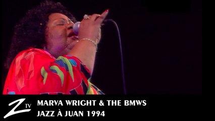 Marva Wright & The BMWs - Glory Glory Hallelujah - Jazz à Juan 1994 - LIVE