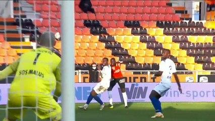 Le résumé de la rencontre FC Lorient - Stade de Reims (1-0) 20-21
