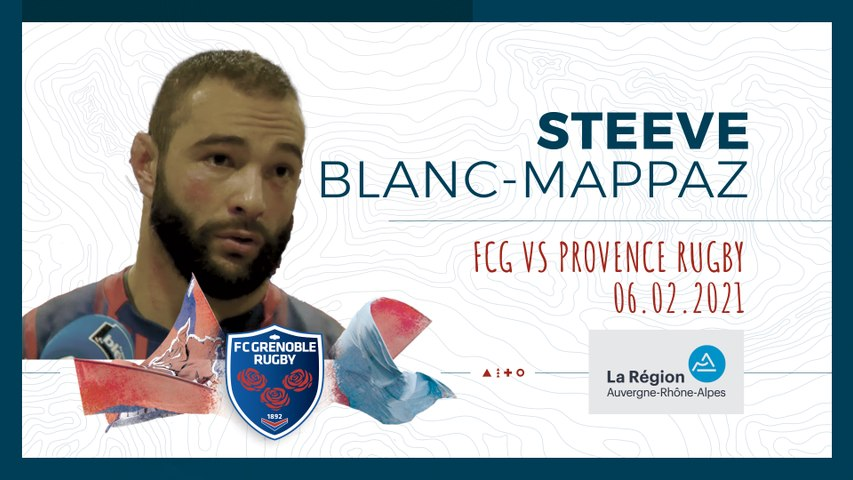 Rugby : Video - ITW STEEVE BLANC MAPPAZ