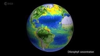 Mil millones de años de deriva continental en 40 segundos