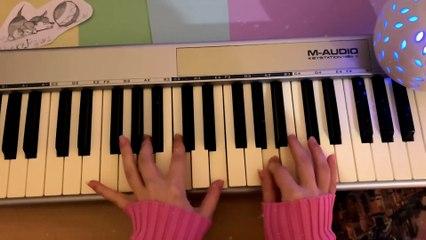 I play on piano for sleeping   Christal Unicorn by Elaizz   sleep music