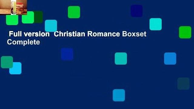 Full version  Christian Romance Boxset Complete