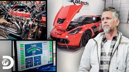 Richard conhece novas tecnologias de motores de última geração   Dupla do Barulho   Discovery Brasil