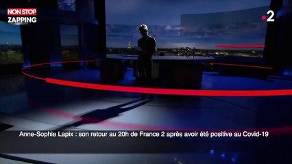 Anne-Sophie Lapix : son retour au 20h de France 2 après avoir été positive au Covid-19 (vidéo)