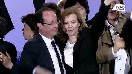 """Valérie Trierweiler : son """"terrible"""" souvenir lors de l'élection de François Hollande (vidéo)"""