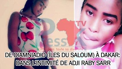 De Diamniadio (Îles du Saloum) à Dakar: dans l'intimité de Adji Raby Sarr