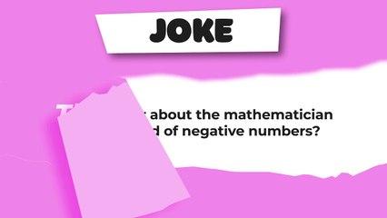 Joke : The mathematician
