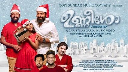 Unneesho Christmas Song _ Gopi Sundar _  B K Harinarayanan _ Meril Ann Mathew
