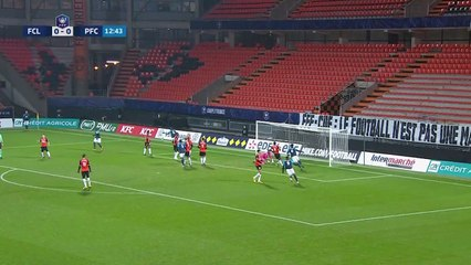 Les buts de la rencontre FC Lorient - Paris FC (2-1) CdF 20-21