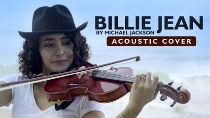 Billie Jean by Michael Jackson -  Acoustic Cover _ Kavya Ajit ft Abin Sagar , Athul Prabhakar