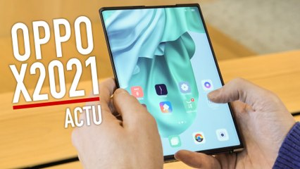 Le premier écran déroulant ! - Prise en main Oppo X 2021