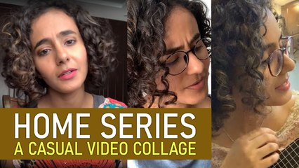 Home series - a casual video collage