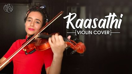 Raasathi _ Thiruda Thiruda _ Violin Cover _ Kavya Ajit