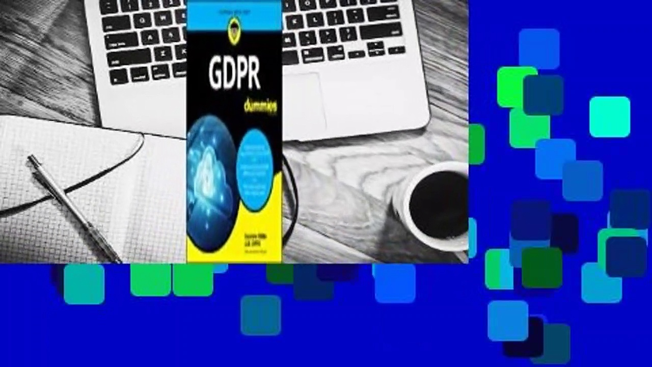 Full E-book  Gdpr for Dummies  For Kindle