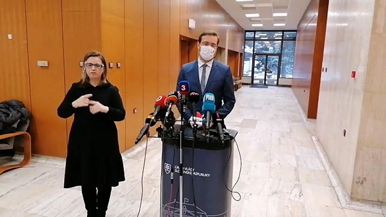 ZÁZNAM: Brífing ministra zdravotníctva M. Krajčího