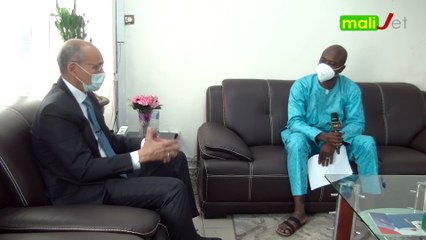 Interview exclusive de Pr Akory Ag IKNANE, Directeur Général de l'Institut National de Santé Publique (INSP)