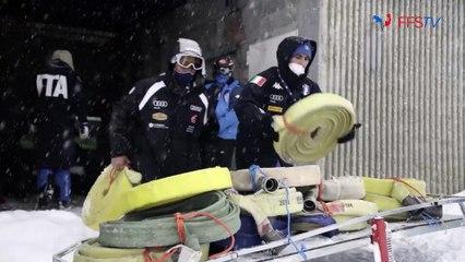 Backstage Jour 3  - Championnats du Monde de Ski Alpin - Cortina