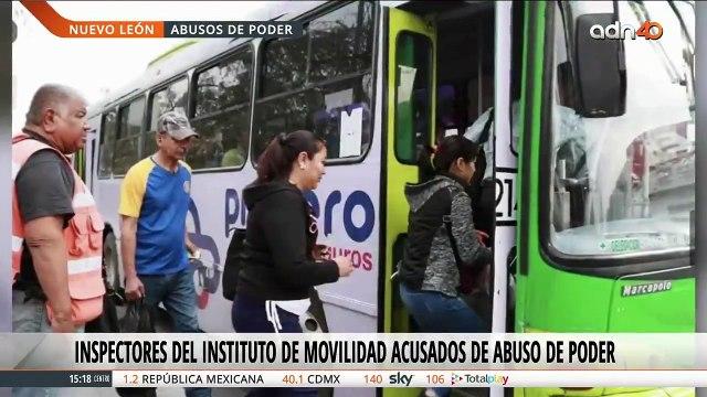 Presunto abuso de autoridad en Nuevo León