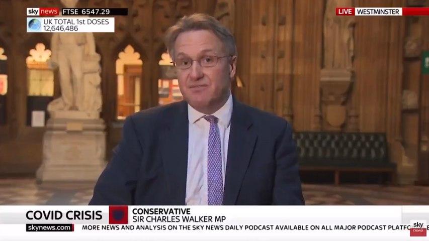 Astonishing moment Tory MP launches stinging attack on Matt Hancock