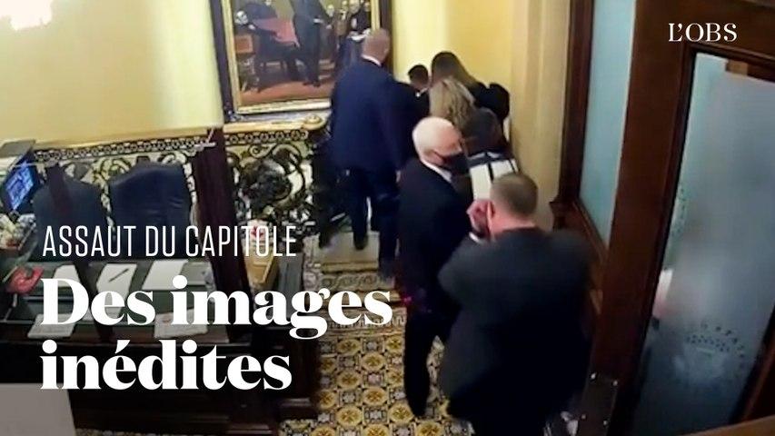 Mike Pence évacué du Capitole : des images inédites diffusées lors du procès de Donald Trump