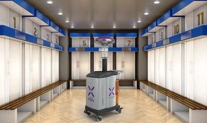 Coronavirus : un robot utilisé pour désinfecter les vestiaires avant le match Caen-PSG