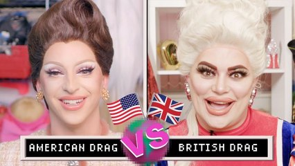 Drag Queens Miz Cracker & Baga Chipz Compare American & British Drag | The World's Our Stage