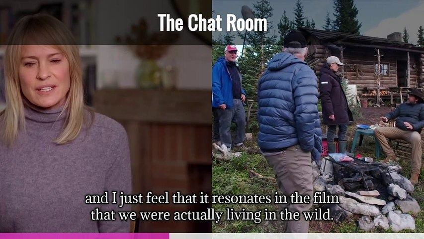 The Chat Room: LAND Robin Wright Director, Executive Producer (Captioned)