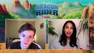 DRAGON RIDER: Thomas Brodie-Sangster Talks Instagram Absence