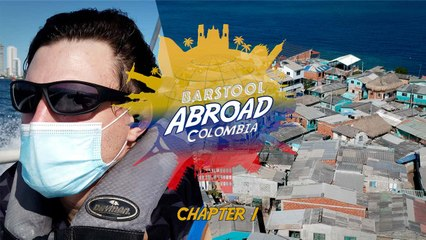 Close Calls in Cartagena and Visiting the Most Crowded Island on EARTH | BARSTOOL ABROAD COLOMBIA (Chapter 1)